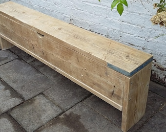 Made to order Scaffold Wood Storage Bench