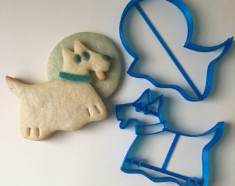 Ghost Dog Cookie Cutter Set