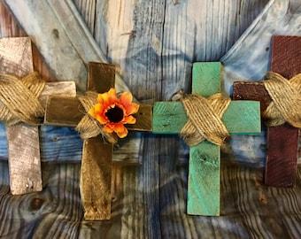 Rustic Wooden Crosses