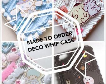 MADE TO ORDER deco cream case
