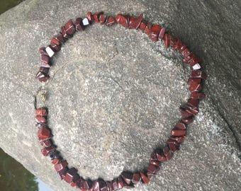 Dar Red Jasper Necklace