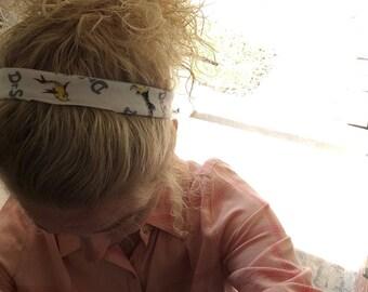 Dr. Suess Headband, white headband, homemade headband, dr. suess accessories, adult headband, baby headband