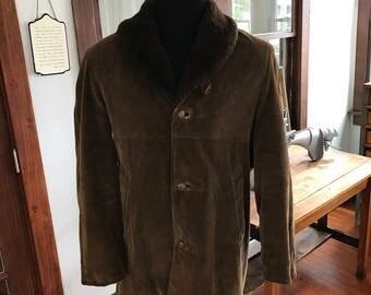Vintage 1970's Robert Lewis Corduroy Coat