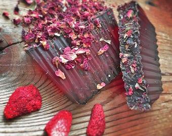 Rose Strawberry Soap