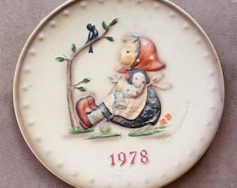 Hummel COLLECTIBLE Plate 1978
