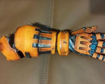 Mechanical arm Junkrat Overwatch cosplay