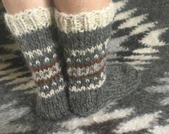 SALE Woolen socks women men woolen Socks knitted wool Knitted gift Soft cozy knit socks  female socks Knitted womens socks Short ankle socks