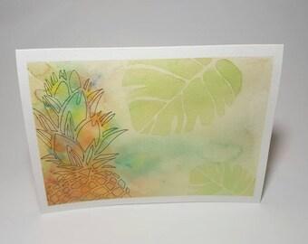 Pineapple card