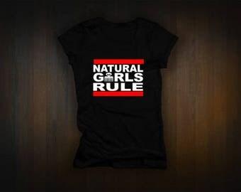 Natural Girls Rule tee