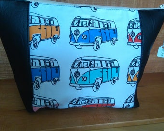 camper van fabric wash bag toiletrys vw