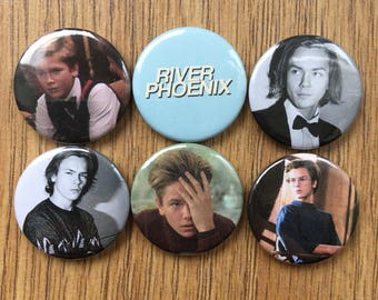 River Phoenix Badges