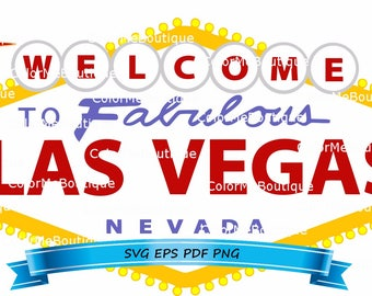 Las vegas sign etsy welcome to fabulous las vegas sign clipart pronofoot35fo Choice Image