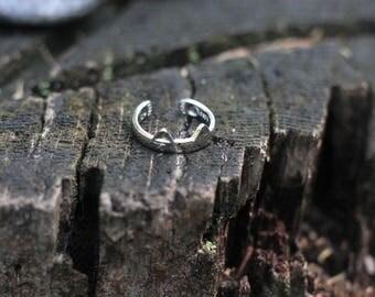 Cat ear ring/adjustable