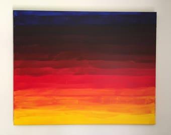 "Original Acrylic Painting - ""Sunset"""