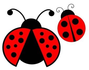 Ladybug svg, ladybug clipart, svg files, instant download, svg, dxf, eps, png