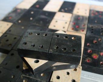 Vintage Handmade Dominos