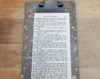 Clipboard with Anne of Green Gables pg 17