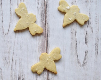 Honey Bee Shortbread Cookies