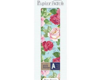 3 sheets paper decopatch 26 x 37.5 cm PAPERMANIA flower
