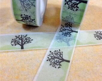 Washi Tape, Masking Tape, tape adhesive scrapbooking tree