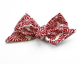 Top Knot Bow, Peppermint