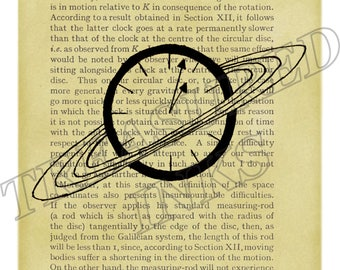 Time & Space - Ink Print