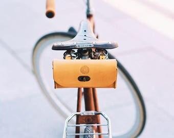 Retro style bag, Brooks saddle bag, Saddle bag, Bike Bag, bike accessories, handle bag, tool bag, bicycle bag, bike gifts, cycling bag, bike