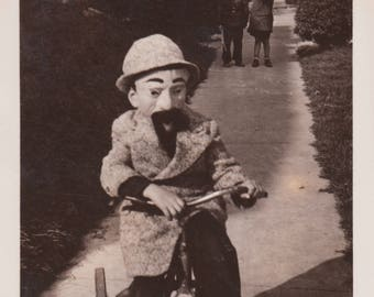 Pair of Vintage Photographs 1930s Halloween