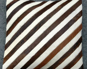 100% natural cowhide leather  Rug Cushion Cover WWL-300