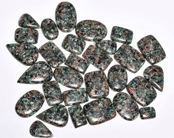 923cts ,29 pieces Lot nice Copper Emerald Cabochons Loose gemstone Natural Handmade  gemstone Z-6255