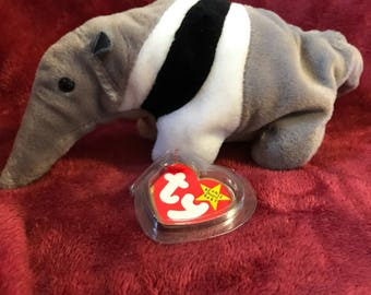"""Presenting """"Ants"""" rare, retired, mint condition TY Beanie baby"""
