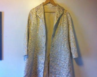 Vintage Metallic Jacket Size 12 AU