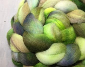 Herb Garden - Hand Dyed Polwarth Wool Top