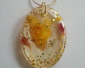 Resin Dried Flower Jewelry