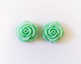 The 'Bella' Flower Earring Studs