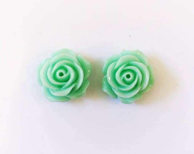 The 'Bella' Flower Earring Studs