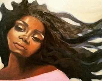 Black Art, Black Hair, Afro Art