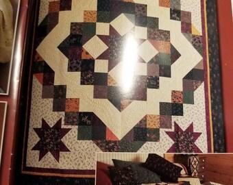 Queen size quilt, homemade