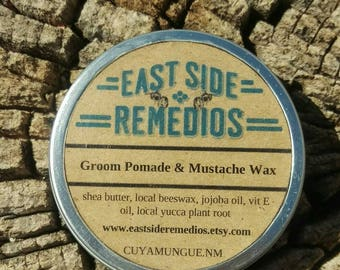 Groom Hair Pomade & Mustache Wax