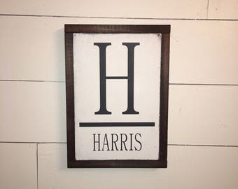 Family Name Sign [FREE SHIPPING!]