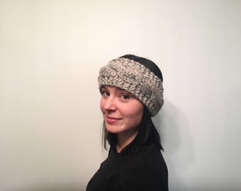 ON SALE, Women's Cable Knit Chunky Winter Headband