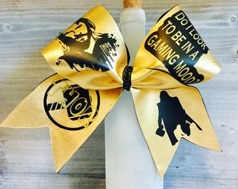 Thor Superhero Cheer Bow