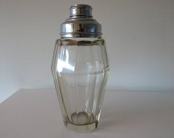 Art Deco Cristal glass cocktail shaker Moser Bohemia? 30 's