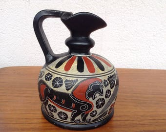 Museumsreplika Antique Greek pitcher replica Corinthian 600 v. C BC Museum
