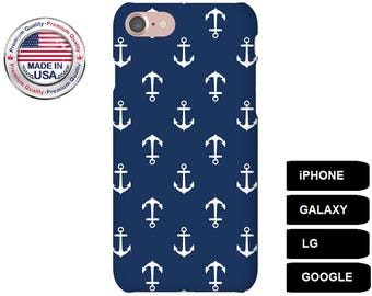 Anchor Phone Case, Phone Case Anchor, Nautical Phone Case, LG G5 Case, Galaxy A5 Case, Galaxy A3 Case, Galaxy S5 Case, Galaxy S6 Edge Case