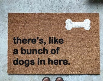 Doormat - Funny Doormat - Dog Lovers - Doormats - Dog Accessories