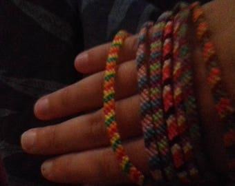 Set of 7 bracelets Brazilians fine handmade