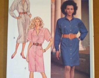 Butterick 6568 Dress, size 8-10-12, J.G. Hook design