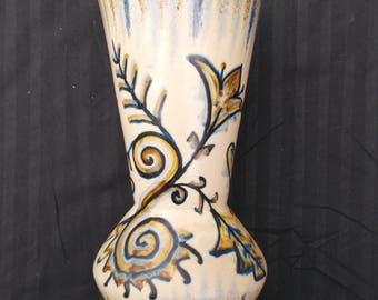 Quimper vase P.Fouillen 50's
