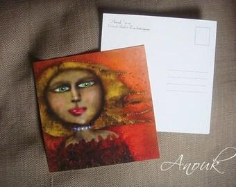 Postcard ~ fall 'Anouk'